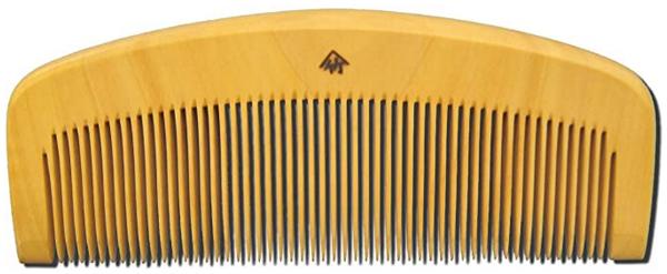 クリスマスプレゼントにおすすめのヘアケア薩摩つげ櫛とき櫛三寸五分細歯