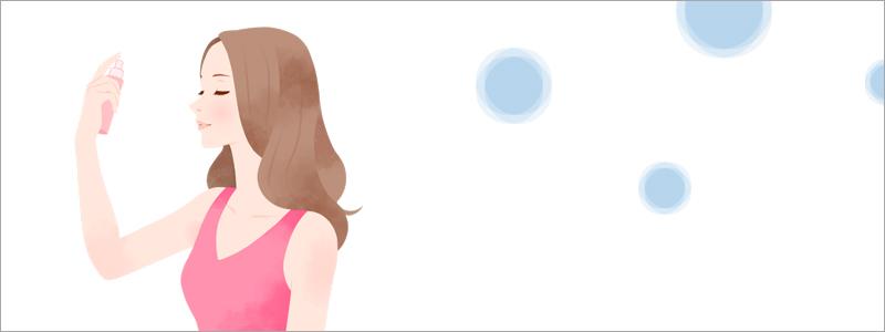 髪に塗る日焼け止めスプレー