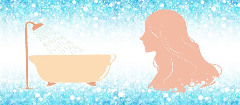 水質と髪の毛の関係